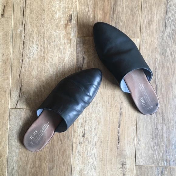 Toms Shoes | Toms Slip On Jutti Mule